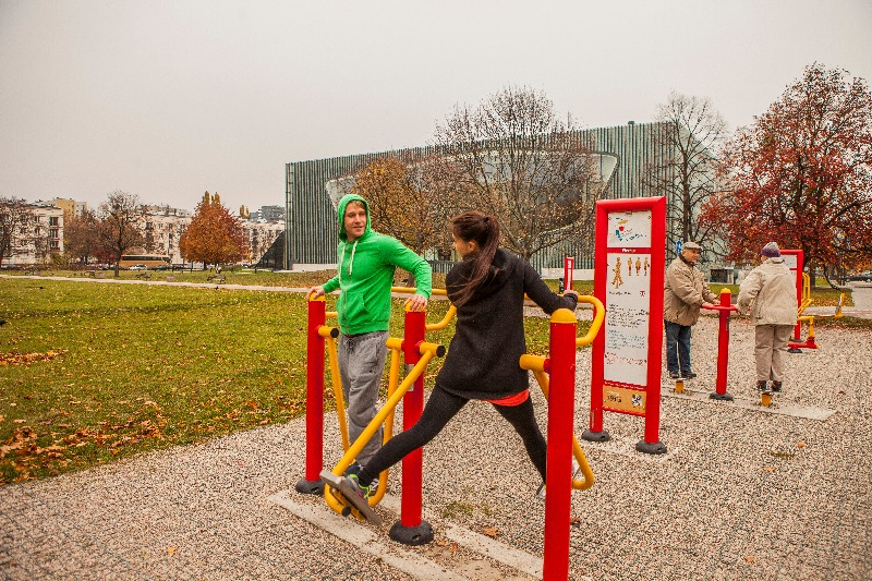 Warsaw outdoor gym