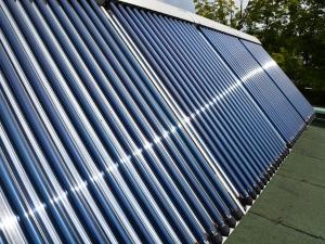 The City of Warsaw also supported the installation of solar thermal collectors.