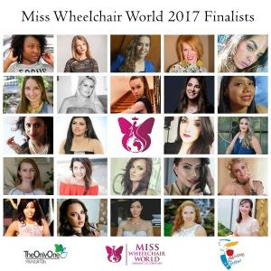 24 finalists of the Miss Wheelchair World 2017 selected!