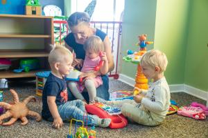Free-of-charge childcare in nurseries