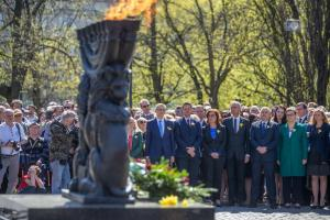 76th Anniversary of the Warsaw Ghetto Uprising - our memories stay alive
