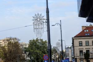 Christmas illuminations are being installed