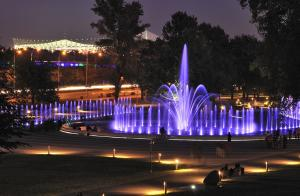 The fountains to be relaunched on first days of May. Fot. PZ Studio
