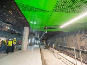 Three metro stations in the Wola District almost completed