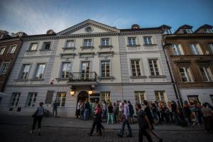 Crowds of visitors during the Night of the Museums. Fot. E.Lach