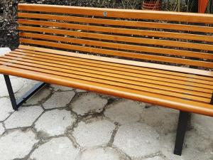 New benches for Varsovians