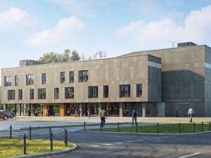A district cultural centre to be build in Ursynów