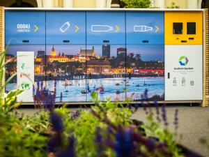 Recycling machines gain popularity