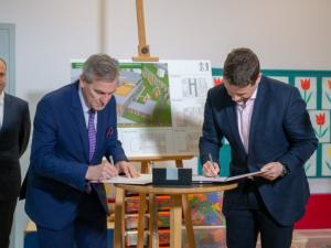 The contract for the construction of a school in Żoliborz has been signed